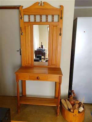 Foyer Yellow Wood Table