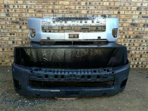 Toyota Quantum Facelift Front Bumper