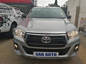 2018 Toyota Hilux single cab HILUX 2.4 GD 6 RB SRX P/U S/C