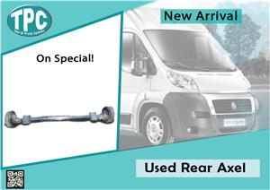 Used Rear Axel for Fiat Ducato for sale at TPC
