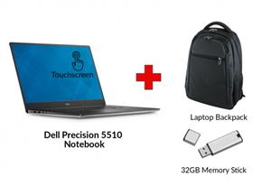 Refurbished DELL PRECISION 5510 Core i7 Notebook
