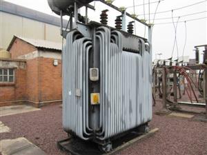 TSS 2 500kVA, 21 000 v Hv, 6 600 v Lv Transformer - ON AUCTION