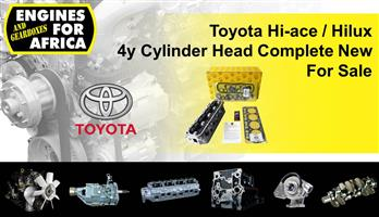 Toyota Hi-ace / Hilux 4y Cylinder Head Complete New For Sale.