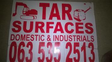 tar surfacing