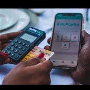 Nupay Go take Debit and Credit card payments anyway using your phone