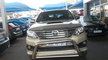 2014 Toyota Fortuner 3.0D 4D 4x4 auto