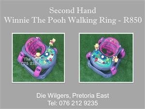 Second Hand Winnie The Pooh Walking Ring