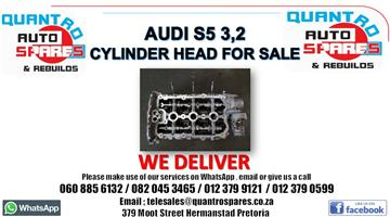 Audi S5 3.2 Cylinder head for sale