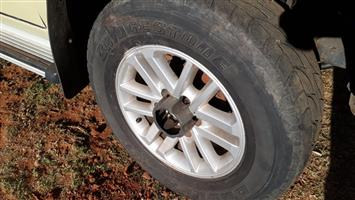 Toyota Fortuner mags 5x17inch