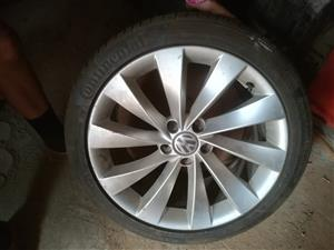 Scirocco mags and tyres
