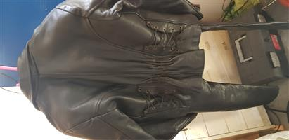 Ladies biker leathers