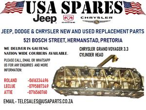 CHRYSLER GRAND VOYAGER 3.3 CYLINDER HEAD (FOR SALE)