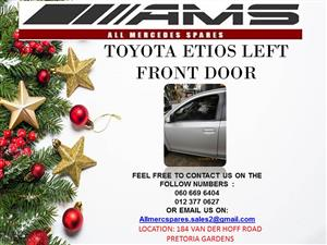 TOYOTA ETIOS LEFT FRONT DOOR FOR SALE