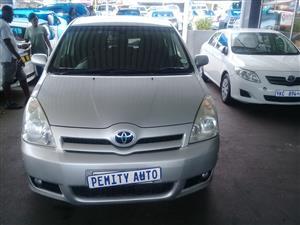2007 Toyota Verso 1.6 S