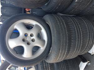 Mag rims and tyres 195.55R16