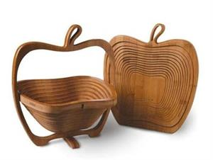Collapsible Wooden Baskets