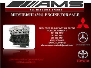 MITSUBISHI 4M41 ENGINE FOR SALE