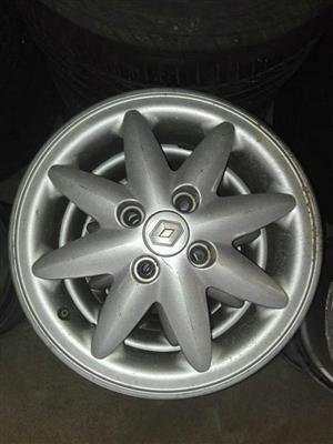 14 INCH RENAULT RIMS FOR SALE