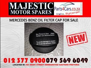 Mercedes benz oil cap doe sale new spares