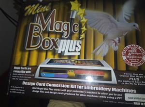 mini magic box plus design card conversion kit for embroidery machine magic cards compactible with babylock,brenette deco, bernina deco 330, bernina artista, brother, Elna, Janome 10 000, pfaff, simplicity and viking