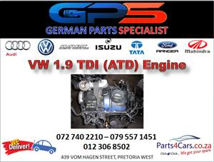 VW (ATD) 1.9 TDI Engine for Sale