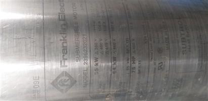 55kw Franklin motor