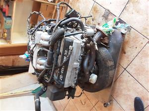complete Lexus V8 engine