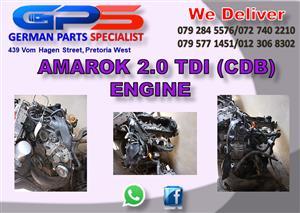VW Amarok 2.0 TDI (CDB) Engine for Sale