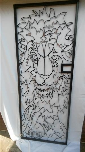 Safety gate art work