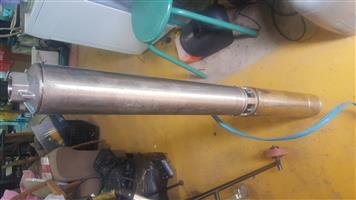 borehole pump 1.5kw 380v 3 phase good condition