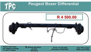 Peugeot Boxer Differential For Sale.