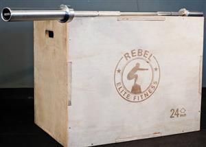 Box Jump Rebel Elite plyometric box