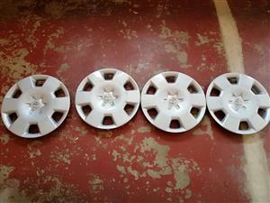 "Toyota corolla 15"" wheelcaps for sale. Good condition"