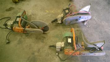 Electrical Rail Disc Cutters for sale!