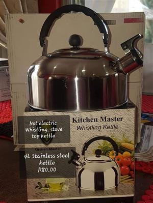 Kitchen master whistling kettle