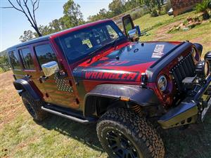2010 Jeep Wrangler Unlimited 3.8L Sahara