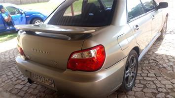 2004 Subaru Impreza 2.0 RS sedan