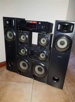 Fully Functioning Sony Sorround sound system for sale