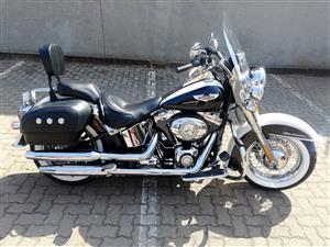Well Looked After Softail Deluxe with Lots of Extras!
