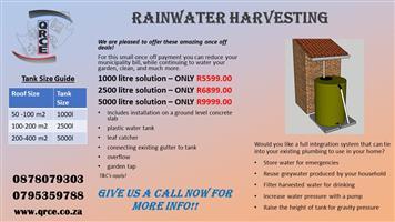 RAINWATER HARVEST