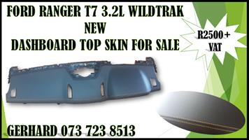 FORD RANGER T7 3.2L WILDTRAK NEW DASHBOARD TOP SKIN FOR SALE