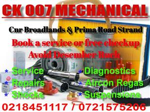 Services available for all makes and models. Book your car for bumper to bumper inspection.