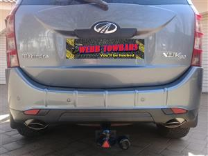 Mahindra Standard/Detachable Towbars, Double Tube & Step Towbars