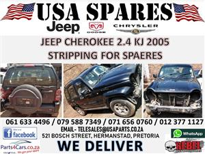 Jeep Cherokee 2.4 KJ 2005 black Manual petrol engine for sale !!