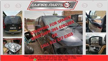*STRIPPING FOR SPARES* HY056 HYUNDAI H1 2.4 PETROL 2012 (G4KG)