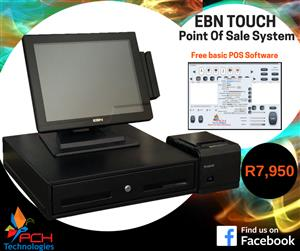 EBM XPOS 755 Touch Screen Point of Sale System