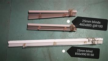 25 mm blinds
