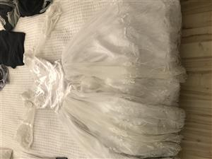 Beautiful Wedding Dress with Puff Petticoat