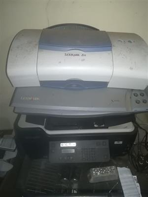 3 Lexmark printers 200 for all 3