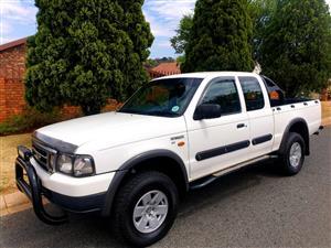 2004 Ford Ranger 2.5TD double cab 4x4 XLT